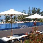 Beach-side Pool