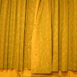 torn/dirty window treatments