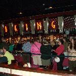 The Buffet line at B.B. Kings