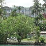 View of the property from Chamorro lagoon