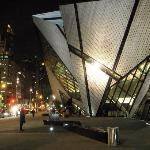 outside the ROM after dinner