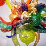 Chihuly on wall