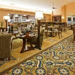 Complimentary breakfast buffet daily and complimentary evening reception Mon - Thurs