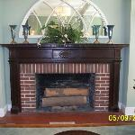 Fireplace in Parlor