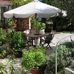 Garten-Sitzplatz