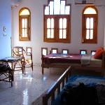 Our room - Category 2, Hassan Fathy style for only 160 Egyptian per night!