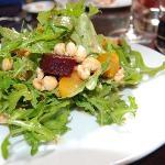 arugula salad with blood oranges