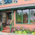 The Kitchen Garden Suite entrance