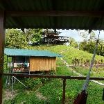 bungalow et salle de reception en hauteur