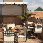 La terrasse - The terrace