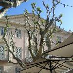 A la terrasse d'un café