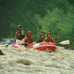 White water rafting on Rio Balsa