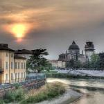 Verona Sunset: the church of San Giorgio