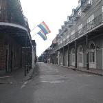 Bourbon Street - morning - New Orleans