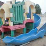 Broken kids area