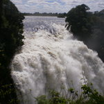Vic Falls full force of Zambezi Apr 2010