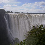 Vic Falls stunning if a bit wet Apr 2010