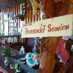 Der Eingangsbereich im Restaurant