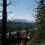 Athabasca River Ridge Ride