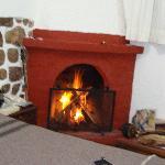 Room 103 fireplace