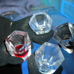 SHOT GLASSES IN ICEBAR