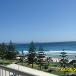 Rainbow Bay from balcony