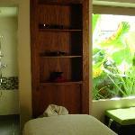 un des salons de massage