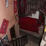 Escalier vers notre chambre