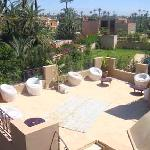 One of 3 roof terraces
