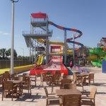 Large slide area
