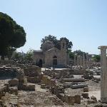 Church by St Pauls Pillar - Paphos