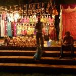 Market Stall during one of the hotels Gala Nights