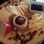 A custom cheese board