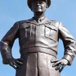 Statue of General Eisenhower