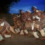 Zulu Dancing in the Boma at Ghost Mountain Inn