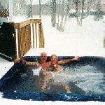 Amazing Outdoor Hot Tub open year round