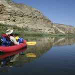Inflatable kayaking on the Lower Owyhee River