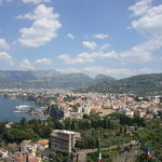 The city of Sorrento