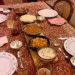 One of many delicious meals that came out of Meera's Kitchen!