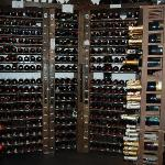 Part of wine room, about one fifth