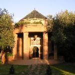 Entrance, evening