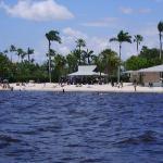 Public beach near Cape Coral Yacht Club