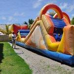 Inflatable Waterslide in KidZone