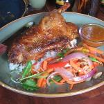 duck with anandapur glaze