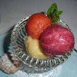 Dessert sherbert