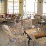Seating in Bar Area at Iguana Reef