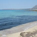 il mare del golfo di Castelluzzo