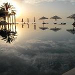 Sunset at the Chedi (aduly only) pool