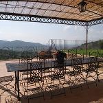 View from Villa Orlando Veranda