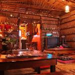 Longhouse style living room